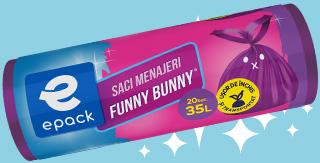 Trash Bags Funny Bunny Epack
